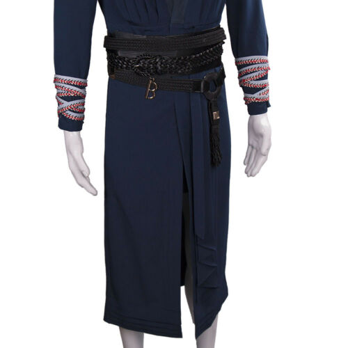 Cosplay Movie Doctor Strange Full Set Costumes Ring /& Eye of Agamotto Necklace