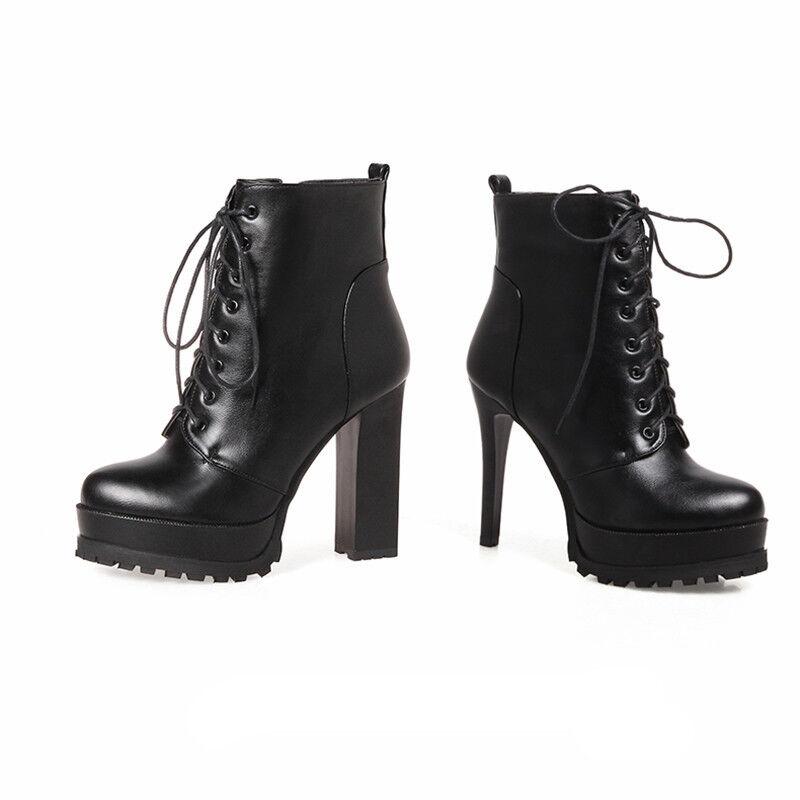 Classical Bnkle Stiefeletten Damenschuhe Pumps Platform Boots Stiefel Plateau