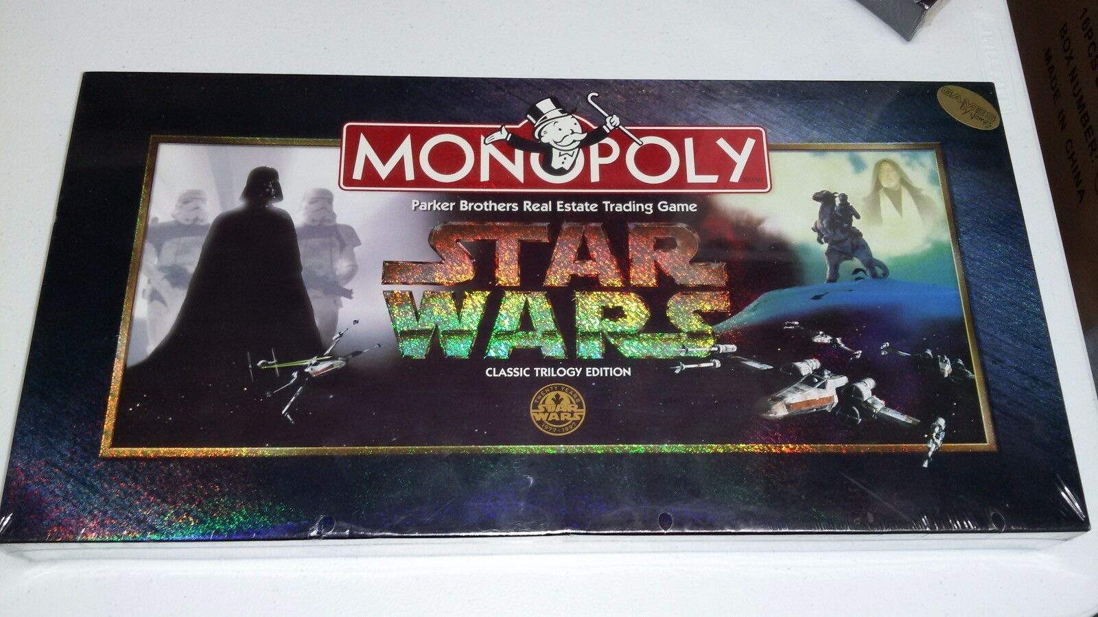Star Wars Classic Trilogy Monopoly board game NEW