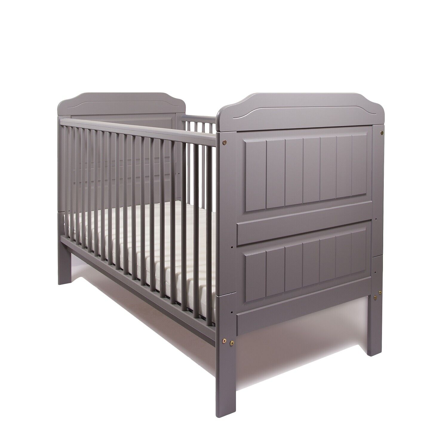 Junior Cot Bed Spring Mattress Obaby Quilted Water Resistant Washable Toddler