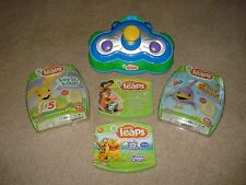 Leap Frog Little Leaps-Learning Steps,Play & Move, Say It Baby!,Winnie the Pooh