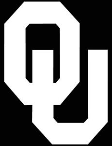 Oklahoma Sooners Logo Car Decal Vinyl Sticker White 3 Sizes Ebay