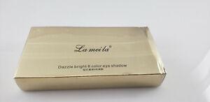 Lameila-Dazzle-Bright-8-Color-Eyeshadow-SEALED-Box-Dented-Exp-12-2020