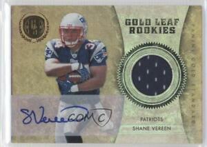 2011 Panini Gold Standard Materials Signatures /50 Shane Vereen #16 Rookie Auto