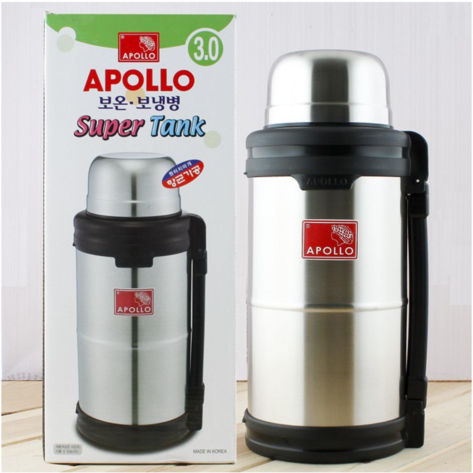 Big isolation sous vide en acier inoxydable chaud cool water drink boisson bouteille carafe
