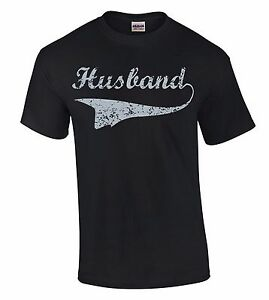 Husband-Grey-T-SHIRT-Father-039-s-Day-Dad-Daddy-Wife-Birthday-Gift-for-Him-Cool-Tee