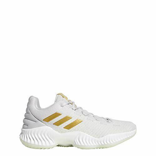 Adidas Homme Pro Bounce 2018 LOW basketball chaussures, vert or métallisé gris 9.5
