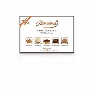 Details About Thorntons Continental Chocolate Collection 142 G Milk White And Dark