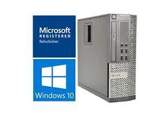 Fast Dell Optiplex 990 SFF Desktop Quad Core i7 3.40GHz 8GB RAM 1TB HDD Win 10