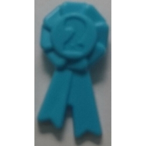 92355f AWARD RIBBON WITH NUMBER 2 GIFT LEGO FRIENDS NEW SELECT QTY /& COL