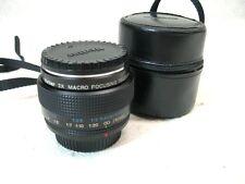 Vivitar 2x Macro Focusing Teleconverter SLR Film Lens P/K Excellent Condition