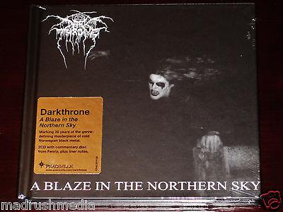Darkthrone: A Blaze In The Northern Sky 2 CD Set 2012 Peaceville Digibook NEW
