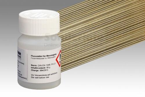 Hartlot A 210 Messinglot 1,5 x 500 mm u 30 St 100 g Flussmittel