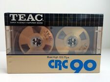 TEAC CRC 90 RARE REEL TO REEL BLANK AUDIO CASSETTE TAPE NEW 1983 YEAR JAPAN MADE