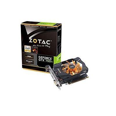 ZOTAC GeForce GTX 750 Ti 2GB Graphics Card PCi-E (2x DVI) mini-HDMI VGA Adapter