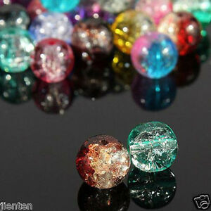 Wholesale-New-Glass-Mixed-Crackle-Crystal-Charms-Beads-Jewelry-DIY-4-6-8-10-12mm