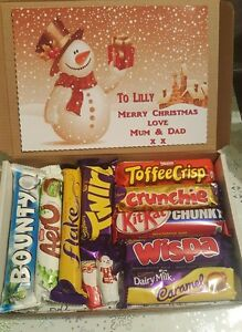 Personalized christmas chocolate gifts