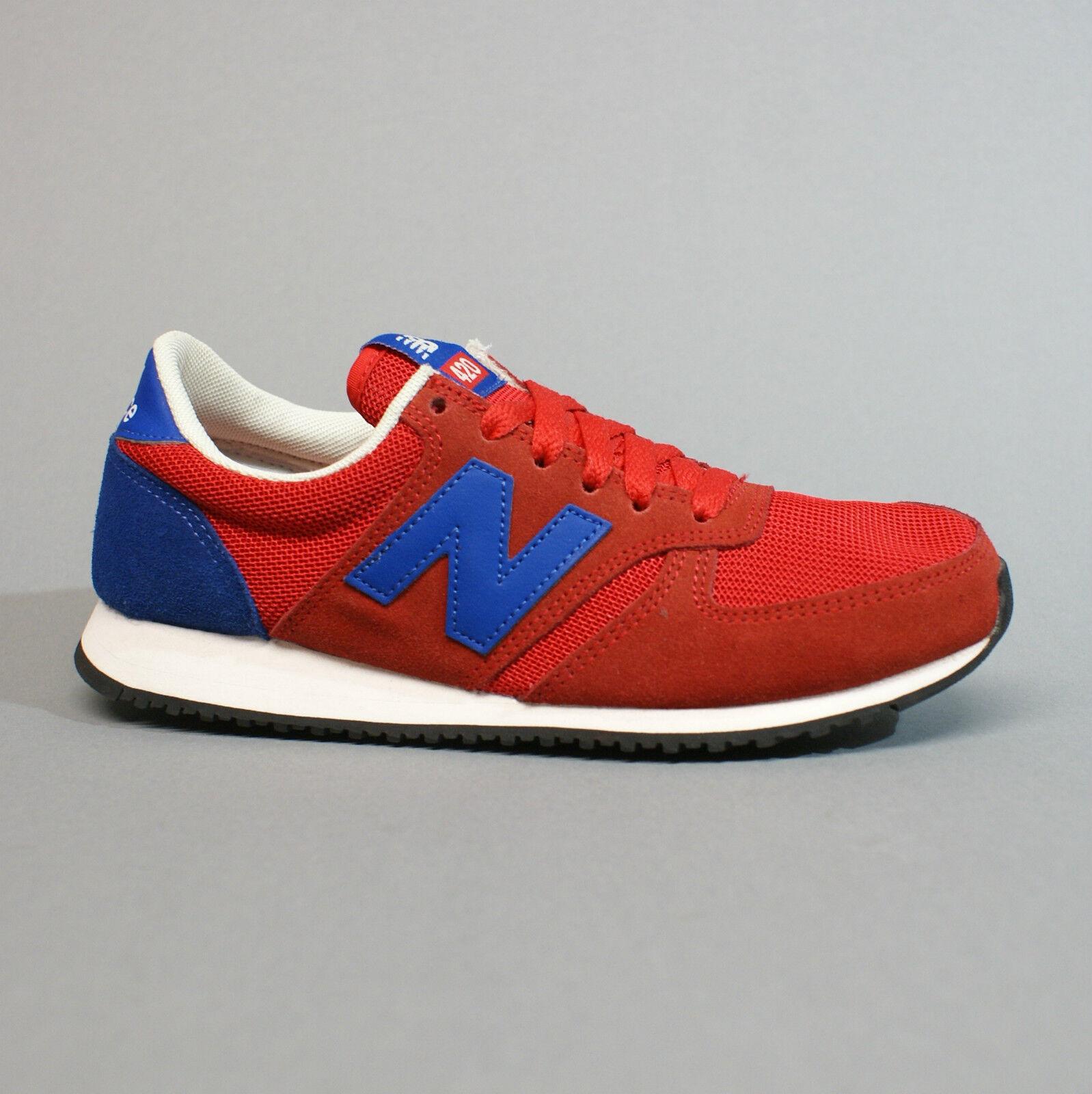 NEU Balance U420SNRR ROT Blau Turnschuhe Sneaker rot blau 36  38,5  41,5