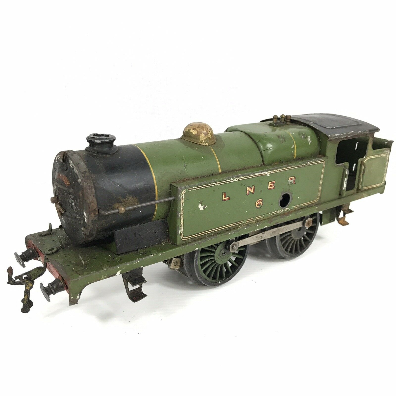 Hornby Series No. 2 Green Tank Loco LNER 6 O Gauge Part Working
