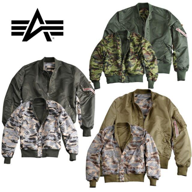 Alpha Industries Herren Jacke MA 1 TT Bomberjacke Men Jacket S M L XL XXL 3XL