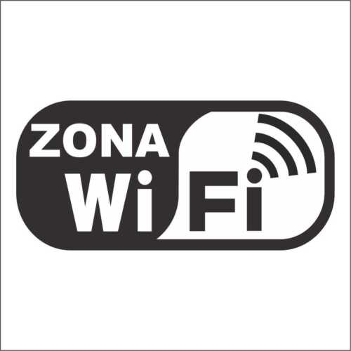 "Vinilo adhesivo sticker aufkleber  /""ZONA WIFI/"" 03 decal vinyl"