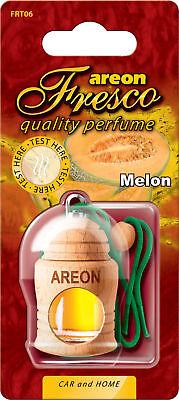2x Original Areon Fresco Auto Auto Profumo Profumo Lattina Profumo Albero Pastiglie Ricarica Deodorante Melone-mostra Il Titolo Originale
