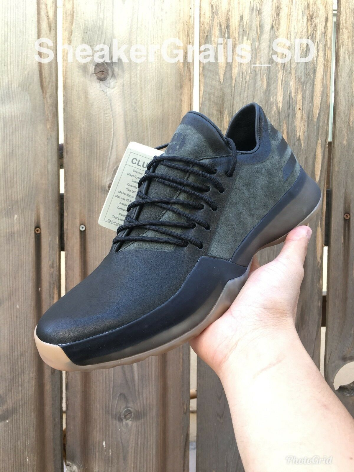 Adidas Harden Vol 1 Milled Leather Promo Sample Size 9