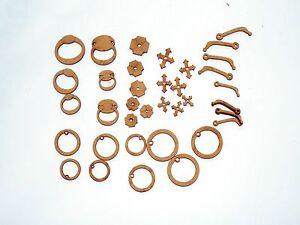36-pc-Kit-Knobs-Knockers-amp-Handles-for-Fairy-Doors-interchangeable-Parts-2D-amp-3D