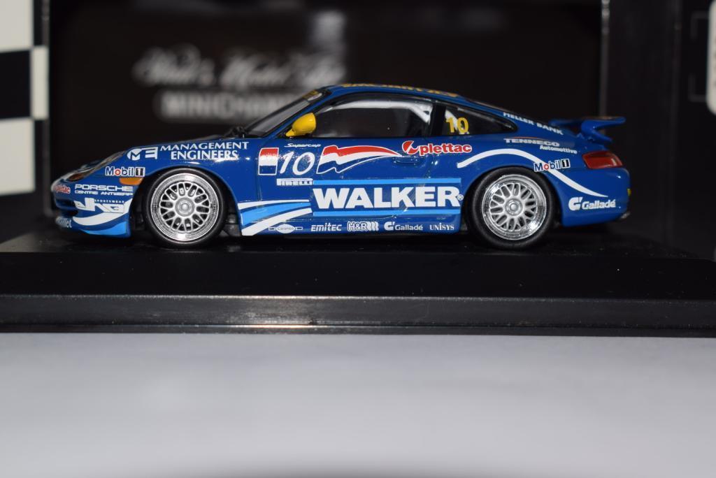 Minichamps Porsche 911 gt3 Supercup Champion - 1998, Team Manthey, p. Huisman 1 43