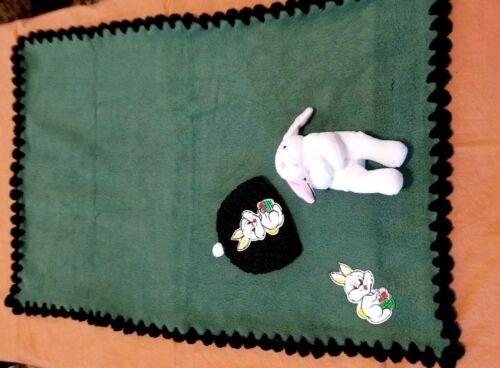 #BB100 1 New Baby Blanket #BB091 Crochet Trimmed Fleece Blankets with Plush