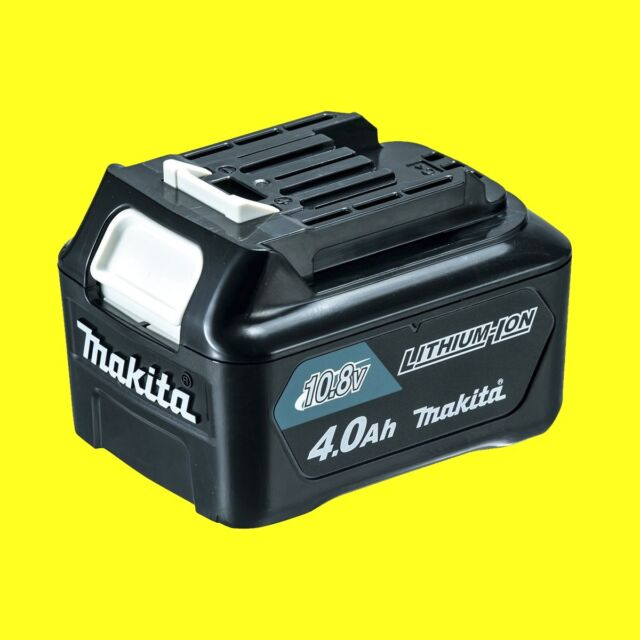 Makita Original Batterie de Rechange BL1040B 10,8 Volt 4,0 Ah Lithium Ion