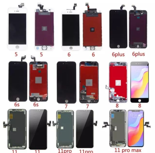 For iPhone 5G SE 6 6S 7 8 PLUS Screen Replacement LCD 3D Touch Digitizer Display