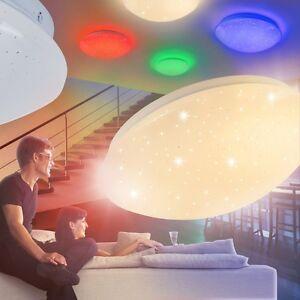 Plafonnier LED Lustre Lampe de couloir Changeur de couleur Lampe de ...