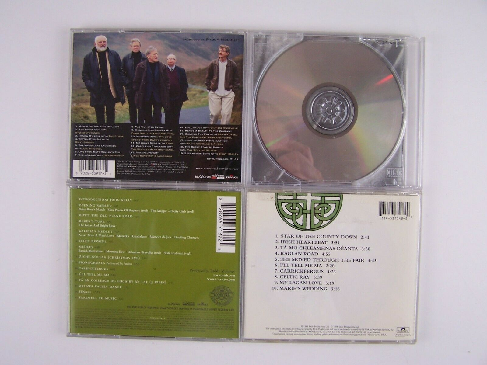 The Chieftains 4xCD Lot #1