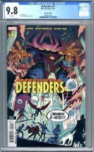 Defenders #1  (2021)  Marvel Comics  2nd Print  CGC 9.8