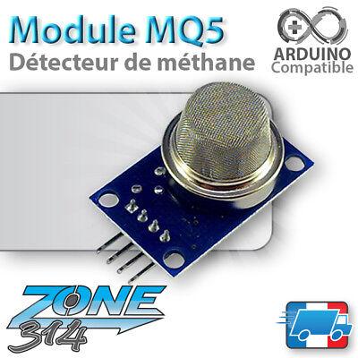 Module MQ 5 - Capteur / Detecteur de méthane (Arduino methane sensor detector )