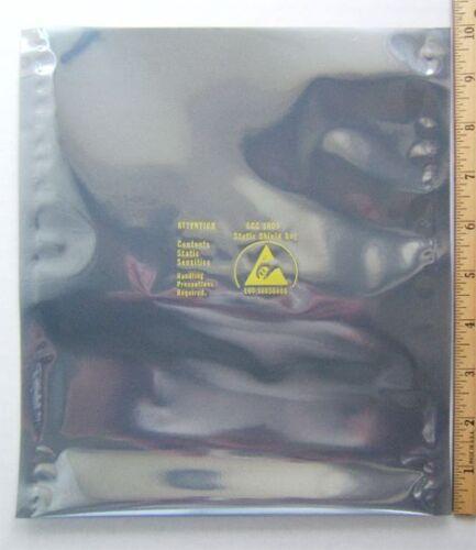"8/"" x 10/"" ESD Anti-Static Shield Bags 1,000 Open-Top"