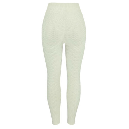 Womens Lift Yoga Pant Fitness Anti Cellulite Scrunch Leggings Gym Activewear UK