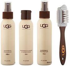 UGG Australia Sheepskin Care Kit Brush Protector Freshener Cleaner 4oz 4pc 556767c25
