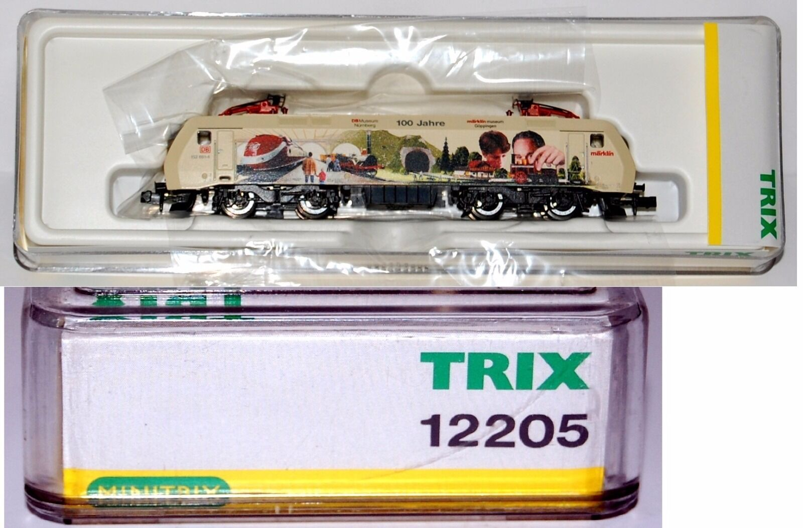TRIX 12205– LOCO ELETTRICA E152 MUSEUM– DB- EP. V