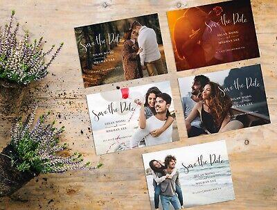 Consegna Veloce Matrimonio Personalizzate Salva La Data Di Carte | Photo Inviti Di Nozze & Buste- Superiore (In) Qualità