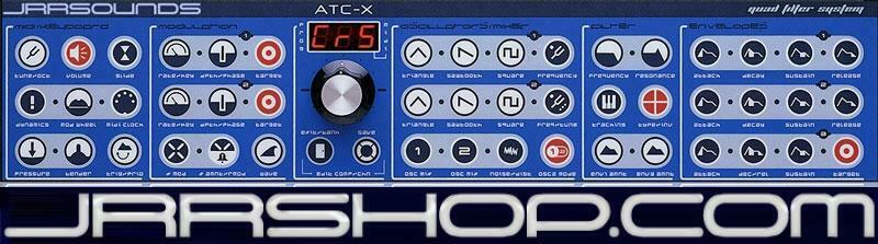 JRR Sounds ATC-X Quad Collection Studio Electronics Sample Set eDelivery JRR Sho