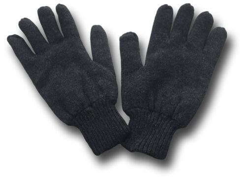 ONE SIZE 29940 1 PAIR THINSULATE LINED BLACK GLOVES
