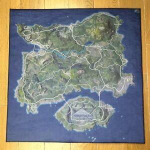 Details about PUBG Map Carpet Erangel & Miramar & Sanhok Map Carpet Room  Decor 80*80cm Newest