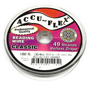 100-039-Accuflex-steel-beading-wire-49-strand-012-inch