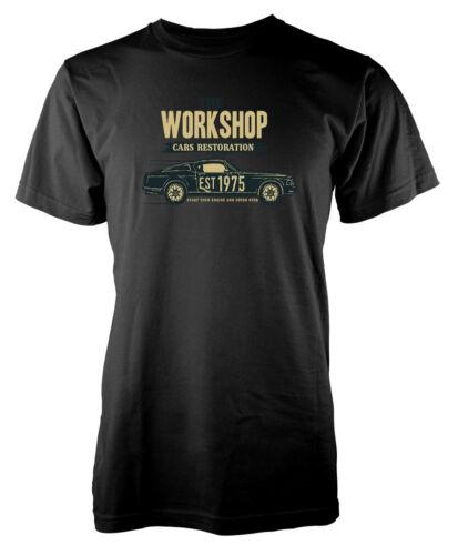 The Workshop Cars Restoration Classic Custom Vintage Kids T-shirt