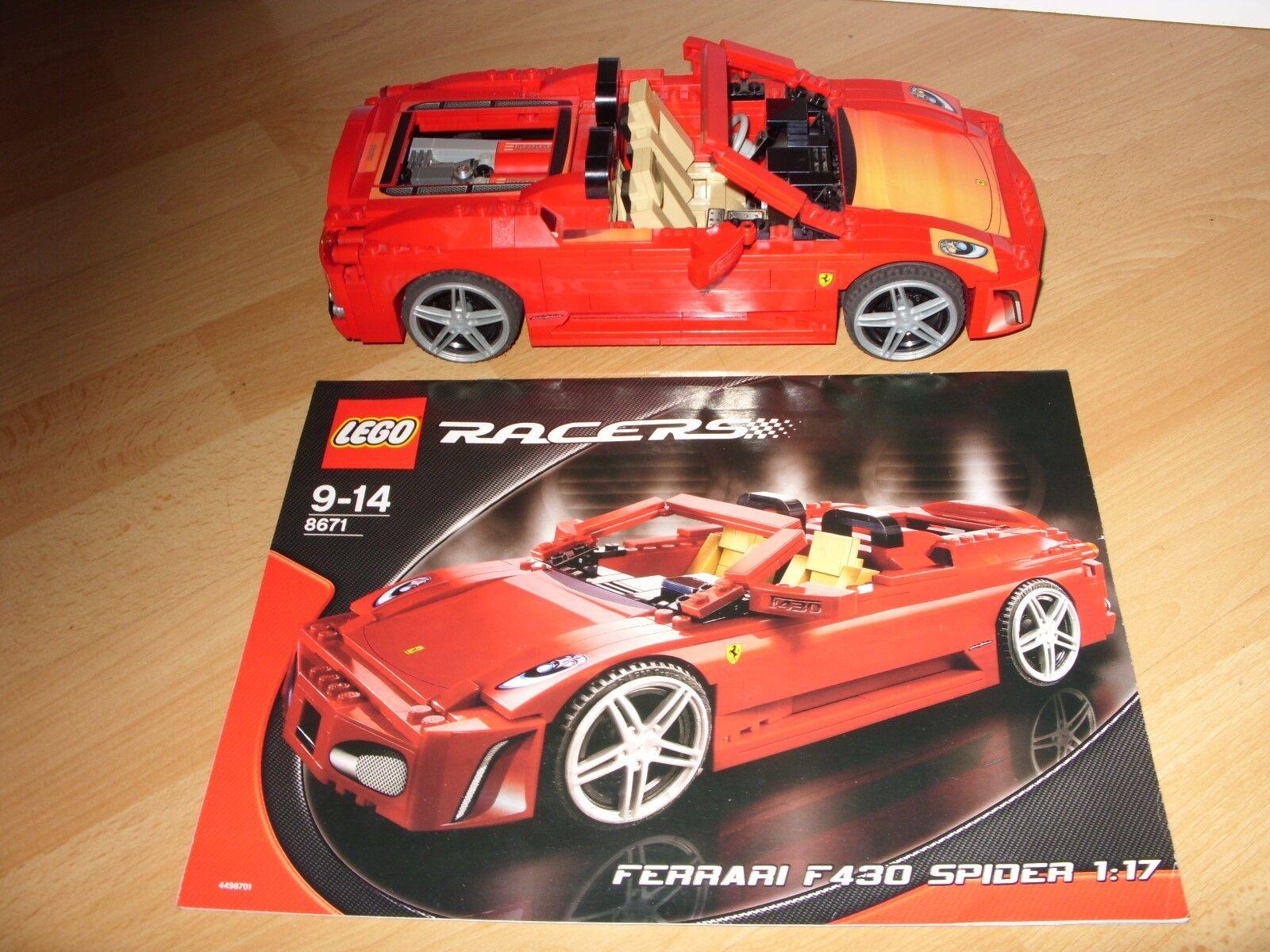 Lego 8671 Racers Ferrari 430 Spider 117