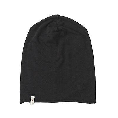 (p66) Lievi Freaky Testa Berretto Rolling Jersey Beanie Black Uni Con Logo Flag-mostra Il Titolo Originale