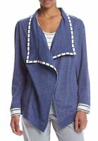 Kn Karen Neuburger Wrap Jacket Size Small