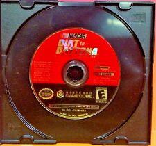 NASCAR Dirt to Daytona - Nintendo GameCube  Rare Racing Game 1-4 Players